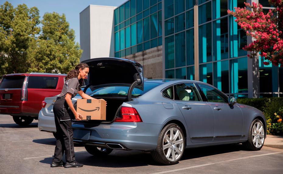 Amazon stellt Pakete erstmals direkt ins Auto zu