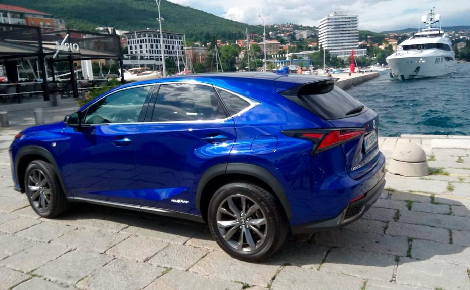 test drive: lexus nx 300h - vollblut-hybrid   trend.at