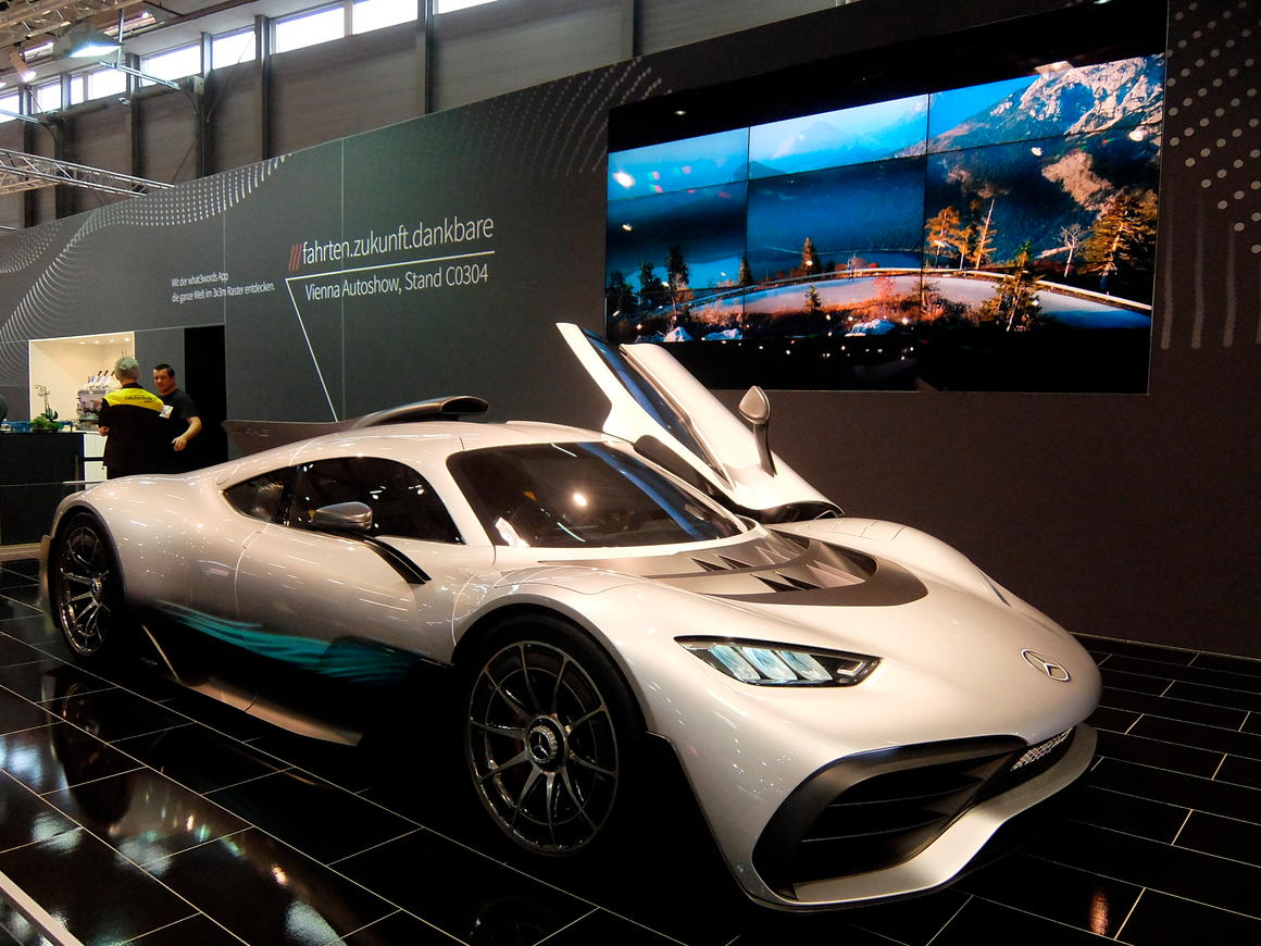 Mercedes Project One: Besuchermagnet