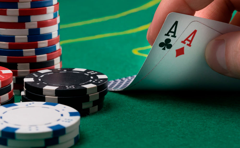 Texas poker hand