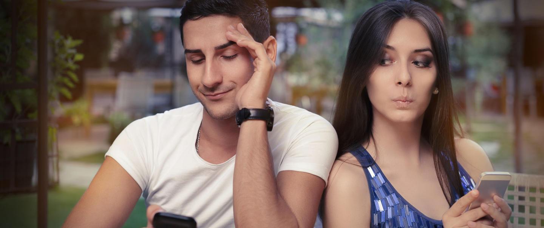 einsame Dating-Seite