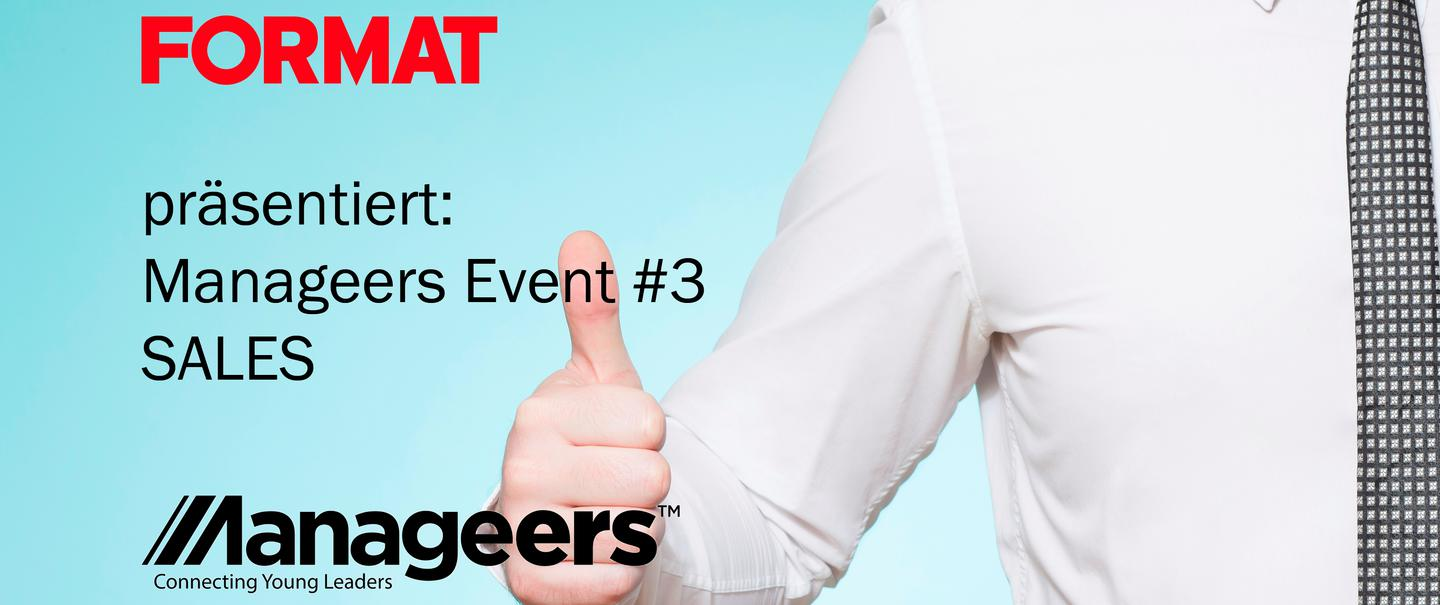 Manageers Event #3: Sales - Best Practices im Vertrieb