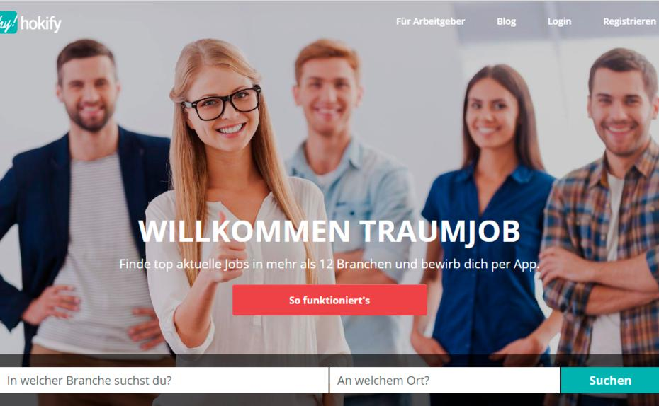 karriere.at investiert in mobile Job-App hokify