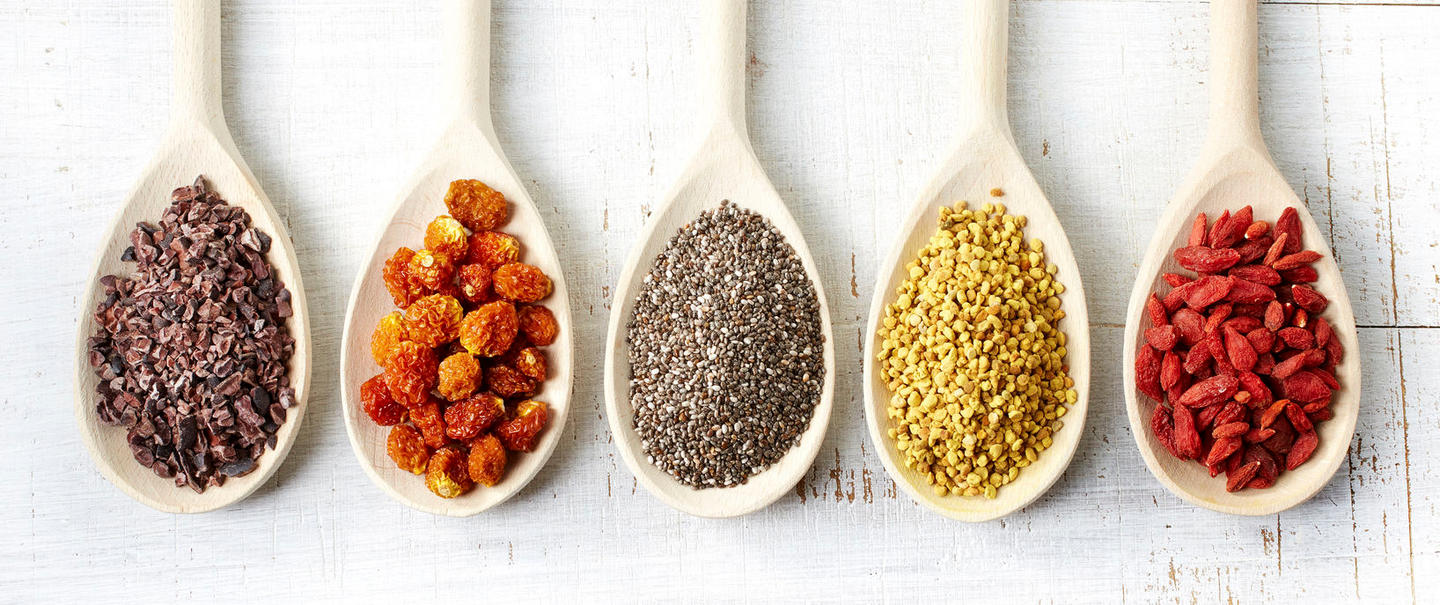 Superfood: Supernepp mit Chia-Samen, Goji-Beeren & Co