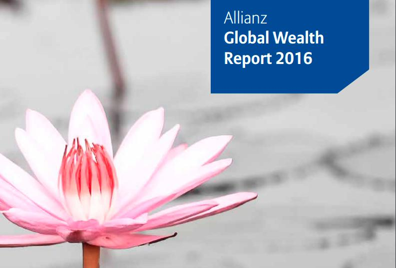 Service: Allianz Global Wealth Report 2016, zum Download auf das Bild klicken.