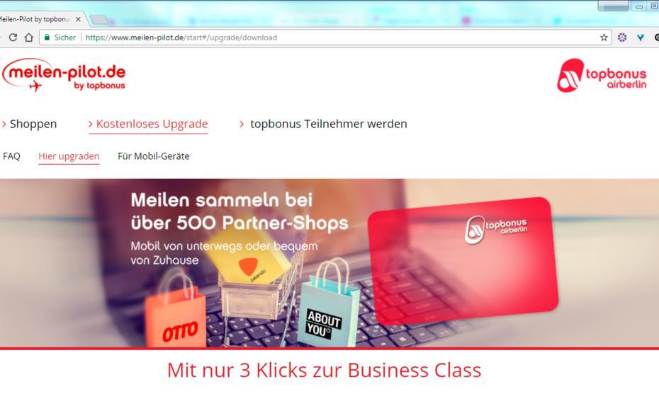 Air-Berlin-Bonusprogramm meldet Insolvenz an