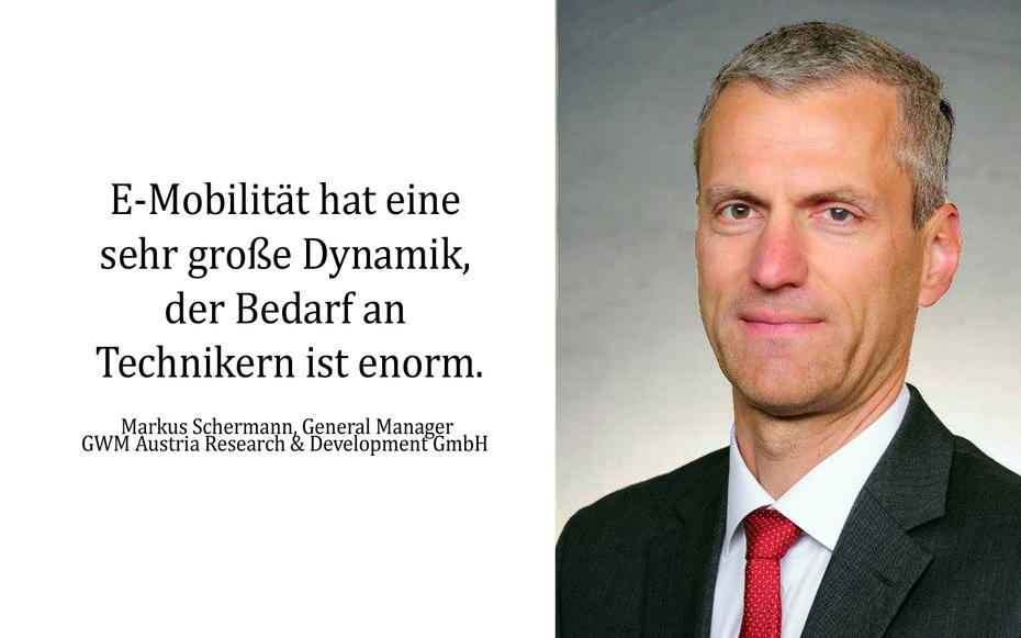Markus Schermann, General Manager GWM Austria Research & Development GmbH