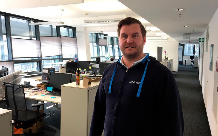 JobRocker Gründer und CEO Günther Strenn