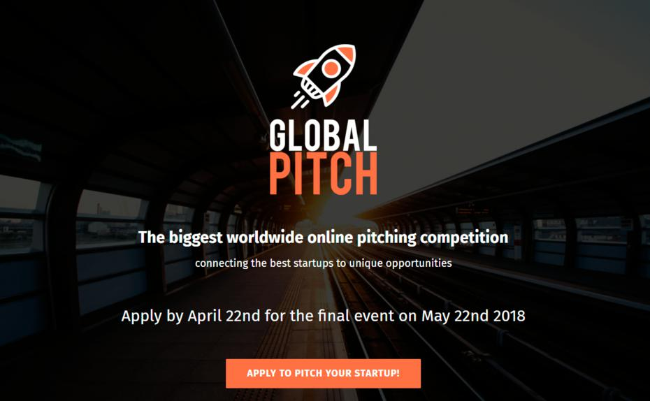 Global Pitch Erste Start Up Wm